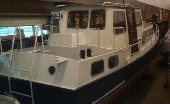 Boot laten schilderen Jachthaven Vinkeveen