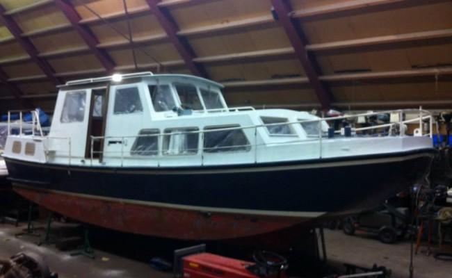 Boot schilderen jachthaven Vinkeveen