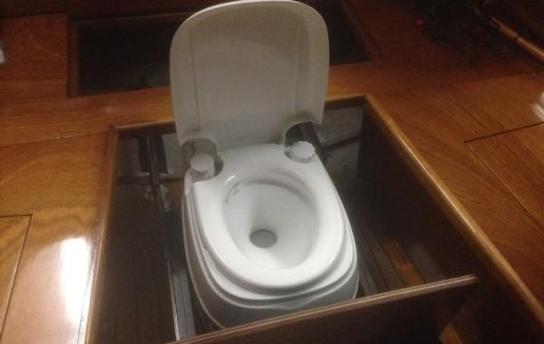 Toilet inbouwen