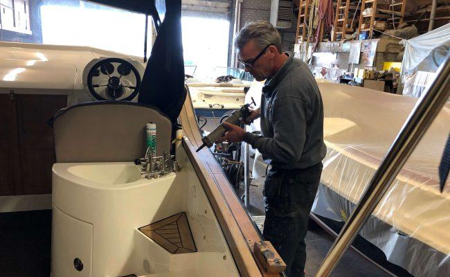 Boot onderhoud Vinkeveen