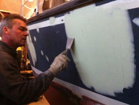 Boot laten schilderen Vinkeveen