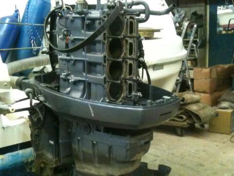 Buitenboordmotor laten onderhouden