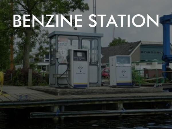 Benzine station Vinkeveen aan het water